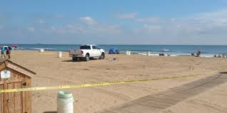 truck hits woman on the sands of virginia beach