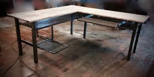 industrial desk l l desk l shaped desk modern industrial desk computer desk