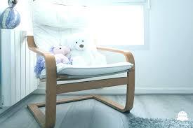 rocking chair chambre bébé chaise chambre bebe chaise a bascule allaitement fauteuil a