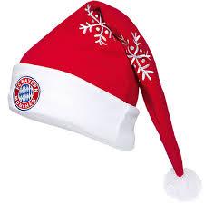 fc bayern münchen weihnachtsmütze nikolausmütze mütze weihnachtsmann