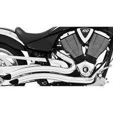 freedom performance chrome sharp curve radius exhaust system