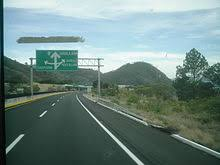 mexico toll road map federal highway 15