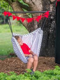 make a kids u0027 hammock and swing with a circus theme hgtv