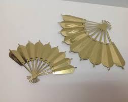 oriental fan wall hanging fan wall hanging etsy