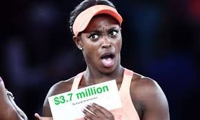 she she sloane stephens was chill about winning the u s open until she got