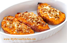 baked yams with feta walnut my kitchen