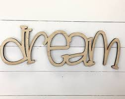 wood words etsy