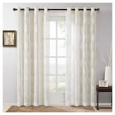 Jacquard Curtain Jacquard Curtain Panels Target