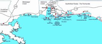 Florida Coast Map Map Of Florida Panhandle Map Holiday Travel Holidaymapq Com
