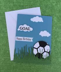 soccer birthday card happy birthday card soccer theme card