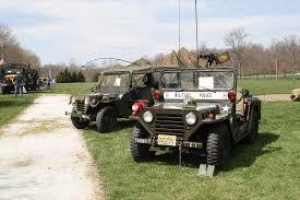 military police jeep post ww2
