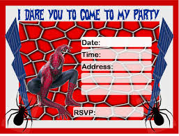 spiderman invitations cloveranddot com