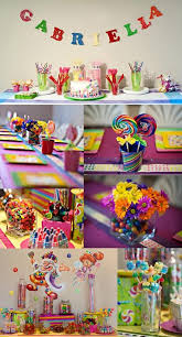 Candy Themed Party Decorations Candyland Birthday Party Theme Sweet City Candy Kids Party