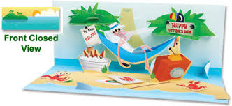 pop up panoramics greeting card island escape home page