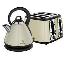 Delonghi Vintage Cream Toaster Russell Hobbs Retro Cream Kettle And Toaster Set You Will Find