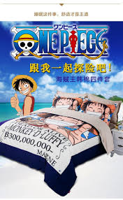 Childrens Bedroom Bedding Sets 5 Color New 100 Cotton One Piece Anime Bedroom Bedding Sets Boys