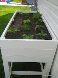 best 25 elevated planter box ideas on pinterest herb garden
