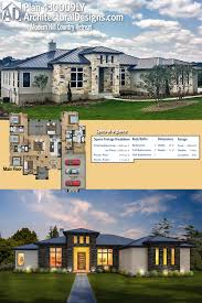 plan 430009ly modern hill country retreat architectural design