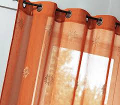 Burnt Orange Kitchen Curtains by Burnt Orange Curtains Burnt Orange Vintage Textured Faux Dupioni
