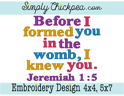 psalm 119 your word applique machine embroidery digital design god