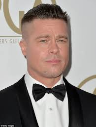 chris webber haircut brad pitt reveals his new hairstyle is for a movie as he
