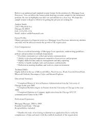 loan processor resume sample sidemcicek com