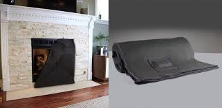 Baby Proof Fireplace Screen by Fireplace Screen Blanket Minimize Heat Loss And Save On Energy