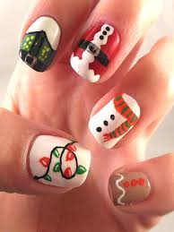 66 best nails images on pinterest holiday nails xmas nails and