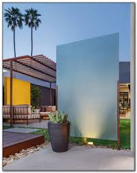 outdoor privacy screen ideas plants decks home decorating
