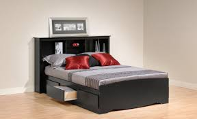 Pltform Bed by Bed Frames Queen Bed Frame With Storage Queen Platform Bed With