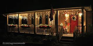 decorating front porch with christmas lights bright and cheery christmas porch