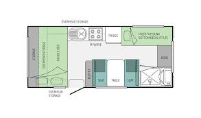 Jayco Caravan Floor Plans Jayco Starcraft Poptop 17 58 3 Eastern Caravans