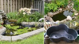 Backyard Pond Building Do It Yourself Ponds 15 Diy Backyard Pond Ideas Water Features