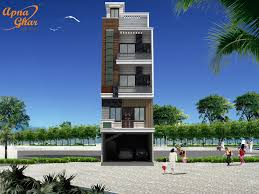 3 bedroom compact triplex house design with additional stilt