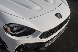 fiat spider white test drive fiat u0027s 124 spider abarth cool hunting