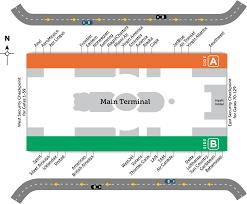 mco terminal map getting around mco orlando international aiport mco