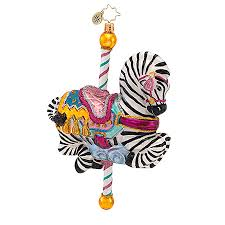 radko ornaments carousel ornament zipalong