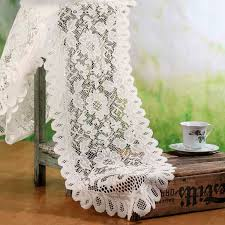 ivory lace table runner ivory lace doily table runner crochet and lace doilies home decor