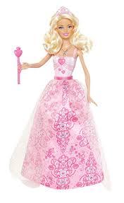 amazon barbie princess barbie pink dress doll 2012 version