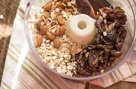 healthy six ingredient dark chocolate truffles lemons and basil