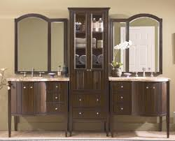 Bathroom Vanities And Linen Cabinet Sets Lovely Chic Design Bathroom Vanity With Matching Linen Cabinet