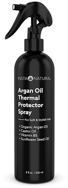 best flat iron sspray for african american hair instanatural thermal protector hair spray best heat protectant