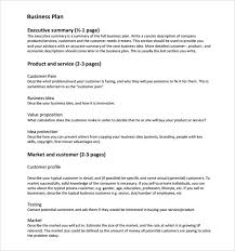 service plan templates cleaning service business plan template
