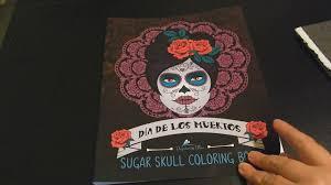 coloring book review dia de los muertos sugar skull coloring book