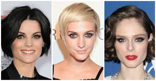 short mid hair pushed behind ears 50 super cute short hairstyles for women mama s a rolling stone