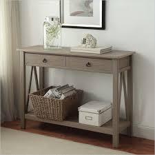 Linon Bunk Bed Linon Titian Console Table In Rustic Gray 86152gry01u