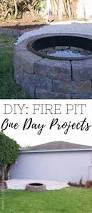 diy fire pit for instant backyard appeal food fun kids