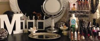 marshall u0027s fab finds storage ideas for your beauty room vanity