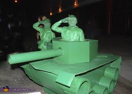 Army Halloween Costumes Mens Size Green Army Men Tank Costume Army Men Homemade