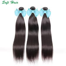Aliexpress India by 7a Peruvian Hair Weave Unprocessed Natural Black Straight 3
